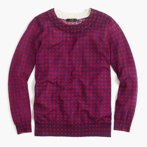 Tippe Sweater in Houndstooth